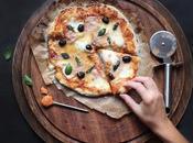 Pizza maison jambon mozzarella