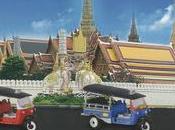 Serie Tuk-tuk taxi Bangkok Majorette, souvenirs prix doux