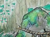 C'est partie pour mois gribouille d'inspiration Japon [Inktober #01]
