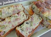 Cake Jambon Cornichons