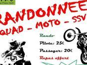 Rando moto, quad Téléthon Verneuil Vienne (87), décembr e2017