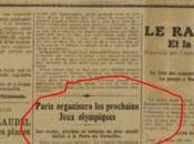 juin 1921 Paris obtint sobrement Jeux Olympiques 1924