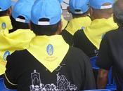 Thaïlande millions volontaires durant période crémation royale Portraits