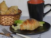 Croissants farcis fromage St-Agur