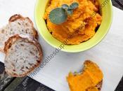 Houmous Carottes Lentilles Corail Carrot Lentil Hummus