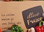 J'ai testé Illico Fresco Panier repas livrés chez vous. Crevettes marinées.