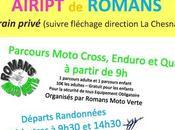 Téléthon moto cross, enduro quad décembre 2017 Sainte Neomaye (79).