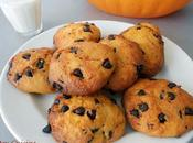 Cookies courge chocolat pour halloween!