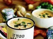 Velouté giraumon lait coco, gingembre coriandre fraîche {#RCFHauteNormandie}