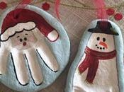 Voici comment fabriquer père Noël bonhomme neige pâte