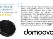 "Avis client DOMOOVA DRV50, robot-aspirateur ""fascinant"""