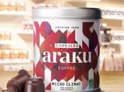 Araku Coffee lance capsules compostables café