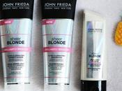 Test avis gamme pour cheveux blonds Brillantly Brighter Sheer Blonde John Frieda