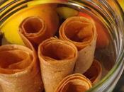 Cuir pommes Bas, Vegan, Healthy Sans sucre ajouté
