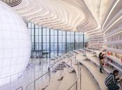 bibliothèque chinoise Tianjin Binhai, plus belle monde? Presque