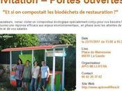 Portes ouvertes compostait biodéchets restauration