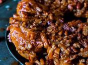 Pumpkin Spice Pecan Sticky Rolls