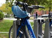 casque pliable recyclable pour vélos libre service