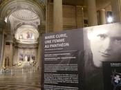 L'exposition Marie Curie, femme Panthéon