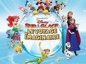 Disney Glace 2017 voyage imaginaire Zenith Paris tournée