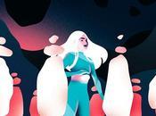 illustrations inspirées cosmos Victoria Roussel