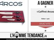 Concours Coffret couteaux Arcos gagner