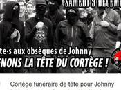 #JohnnyHallyday Scandale national blacks blocs cortège tête
