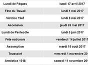 [:fr]Les TOUS jours fériés 2017 officiels France[:]