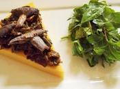 Fausse Tarte pois chiches, blettes champignons jardin (Vegan)
