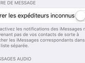 Économiser données avec l'application Messages pour iPhone