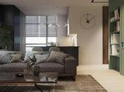 """appartement contemporain, chaleureux presque """"rustique"""""""