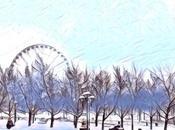 Vieux-Montreal sous neige