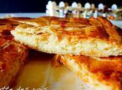 Galette rois frangipane dite parisienne mangeurs gâteau