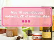 cosmétiques naturels, zéro déchet minimalistes