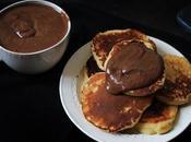 Pancakes faciles yaourt (avec plein pâte tartiner)