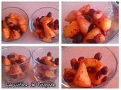 Pommes poires noisettes raisins l'Actifry
