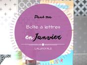 HAUL coeurs Janvier, dans boîte lettres…sous signe soldes