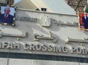 autorités égyptiennes ouvrent passage frontalier avec bande Gaza