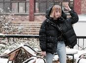 Parisian snow