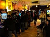 salle jeux vidéo d'arcade années