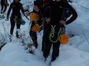 Sortie canyoning chaude sous neige