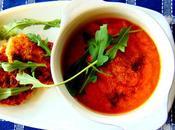 Soupe carottes rôties tahini