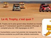 #Ouistreham Ville soutient équipage Trophy, raid étudiant dans désert