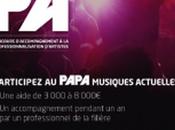 Lancement édition PAPA (Plan D'accompagnement professionnalisation artistes musiques actuelles