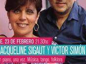 Jacqueline Sigaut Victor Simón vendredi Pista Urbana l'affiche]