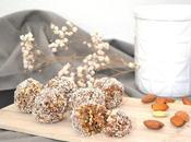 Fitballs snack sain avec seulement ingrédients