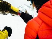 Apple Watch Series mesure l'activité planche neige