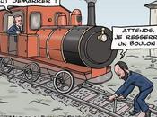Macron Philippe, sauveurs rail