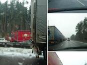 Épisode neigeux camions