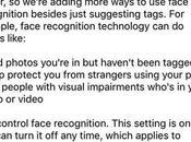 Comment activer désactiver reconnaissance faciale dans Facebook?